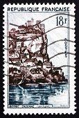 Postage Stamp France 1957 Chateau De Beynac-cazenac, Dordogne