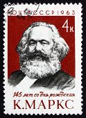 Postage Stamp Russia 1963 Karl Marx, Philosopher