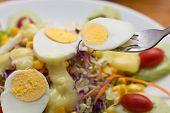 Boiled Egg Salad.