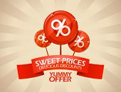 stock photo of incredible  - Sweet prices - JPG