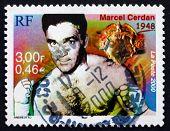 Postage Stamp France 2000 Marcel Cerdan, Boxer