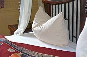 Romantic Bedroom On A African Resort