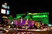 Das MGM Grand Hotel & Casino in Las Vegas