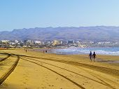 picture of canary-islands  - Maspalomas Beach on Gran Canaria Canary Islands Spain - JPG