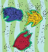 Ink Spot Fish