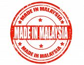 Made In Malaysia-stamp