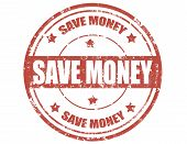 Save Money-stamp