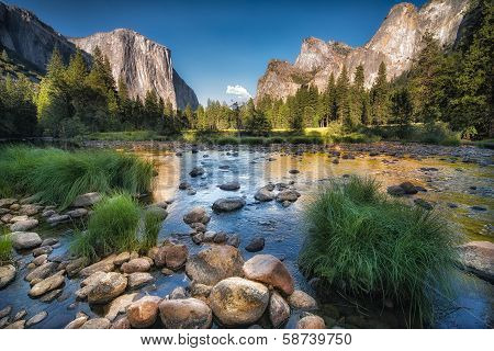 Yosemite Reflection poster