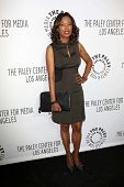 Aisha Tyler at the Paley Center for Media 2013 Benefit Gala, 20th Century Fox Studios, Los Angeles, CA 10-16-13