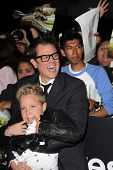 Johnny Knoxville and Jackson Nicoll at the