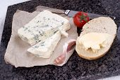 Soft And Creamy Blue French Cheese