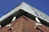 Two Cctv Surveillance Cameras