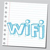 Wi-fi letters