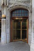 Tribune Tower Entrance