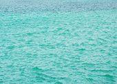 Aquamarine Sea Surface