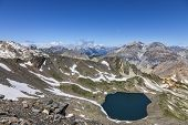 Lac Blanc From Vallee De La Claree, France