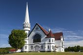 St. Mary's Catholic Church, Indian River, in rural Prince Edward Island, Canada.