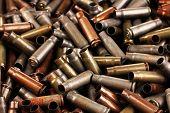 image of shotgun  - Shotgun cartridges close - JPG
