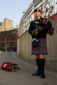 Scottish Pipe Man