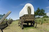 Covered Wagon on Oregon Trail
