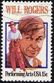 Will Rogers Stamp