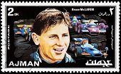 Bruce Mclaren Stamp