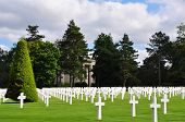 World war two cemetry in France, Europe
