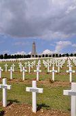 Verdun Memorial Cemetery in France