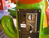 Green Insert Coin