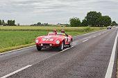 Ferrari 500 Mondial In Mille Miglia 2013