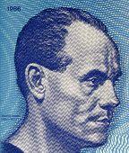 FINLAND - CIRCA 1986: Paavo Nurmi (1897-1973) on 10 Markkaa 1986 Banknote from Finland. Finnish midd