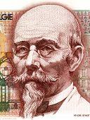 BELGIUM - CIRCA 1978: Hendrik Beyaert (1823-1894) on 100 Francs 1978 Banknote from Belgium. One of t