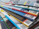 Magazine Stack Fanned Out
