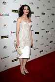 LOS ANGELES - JAN 11:  Tina Arena at the  2014 G'Day USA Los Angeles Black Tie Gala at JW Marriott H