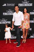 LOS ANGELES - JUL 16:  Mario Lopez, Courtney Mazza at the