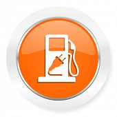 fuel orange computer icon