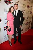 LOS ANGELES - JUL 16:  Jen Lilley, husband Jason Wayne at the ESPYs AfterShow Dinner Party at the Pa