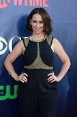 LOS ANGELES - JUL 17:  Jennifer Love Hewitt at the CBS TCA July 2014 Party at the Pacific Design Cen