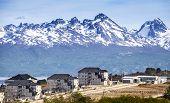 Mountains Over Ushuaia, Argentina.