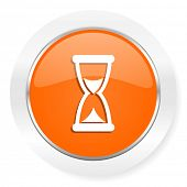 time orange computer icon