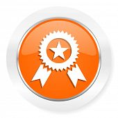 award orange computer icon