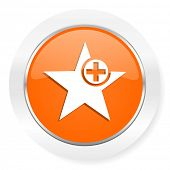 star orange computer icon