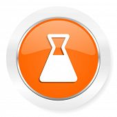 chemistry orange computer icon