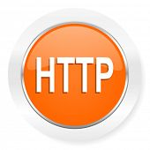 http orange computer icon