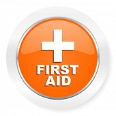 first aid orange computer icon