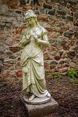 image of dukes  - Classical statues in the old barn at Duke Farms in Hillsbourough NJ - JPG