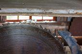 Rusty circular saw