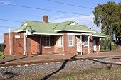 Rural Railway Station In Midlands, Kwazulu-natal, South Africa