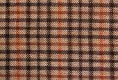 Grunge checked brown pattern
