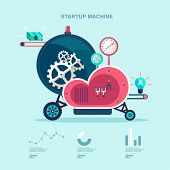 pic of time machine  - Startup machine - JPG